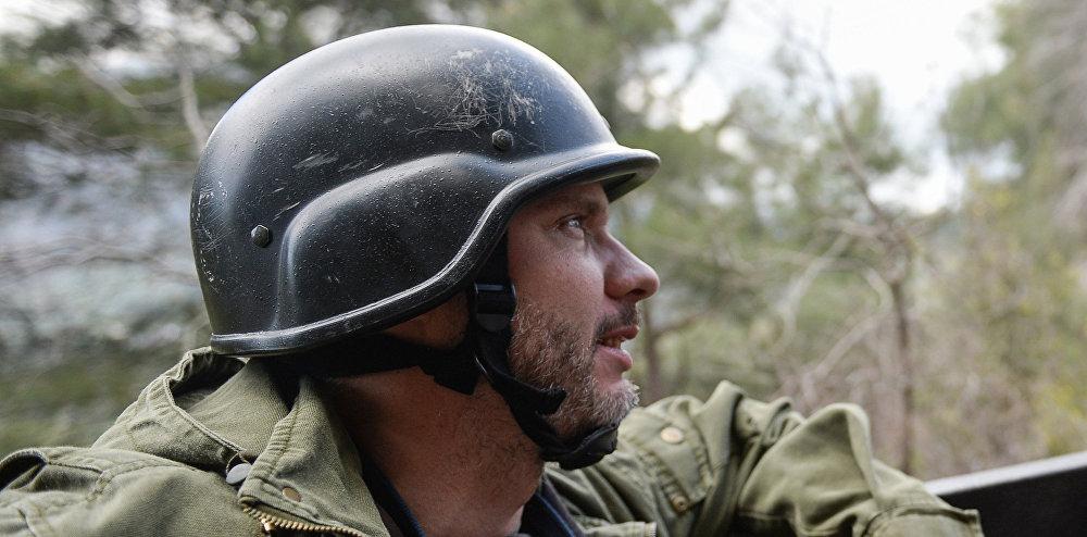 Rossiya Segodnya special photo correspondent Andrei Stenin.