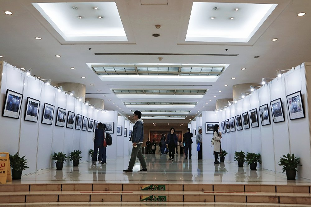 Opening of exhibition of winners of Andrei Stenin contest in Shanghai