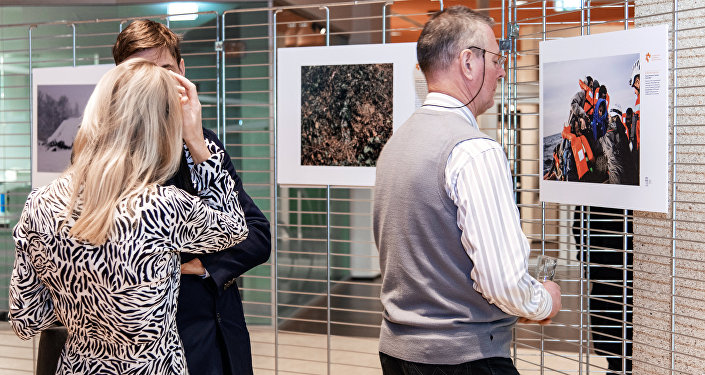 An exhibition showcasing the winning works from the 2019 Andrei Stenin International Photo Contest opened at the Council of Europe's headquarters in the French city of Strasbourg.
