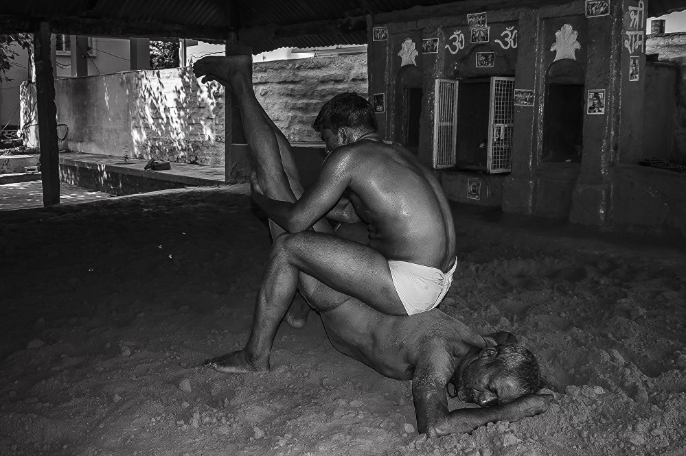 Kushti: The Art of Indian Mud Wrestling
