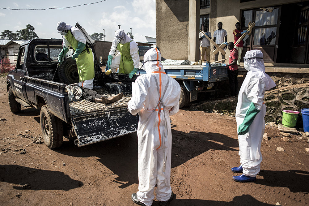 Ebola: Democratic Republic of the Congo